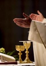 communion in a church
