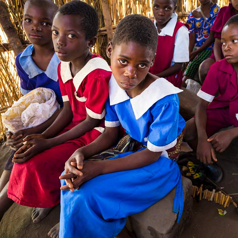 Dorfschule Kaphatika Malawi