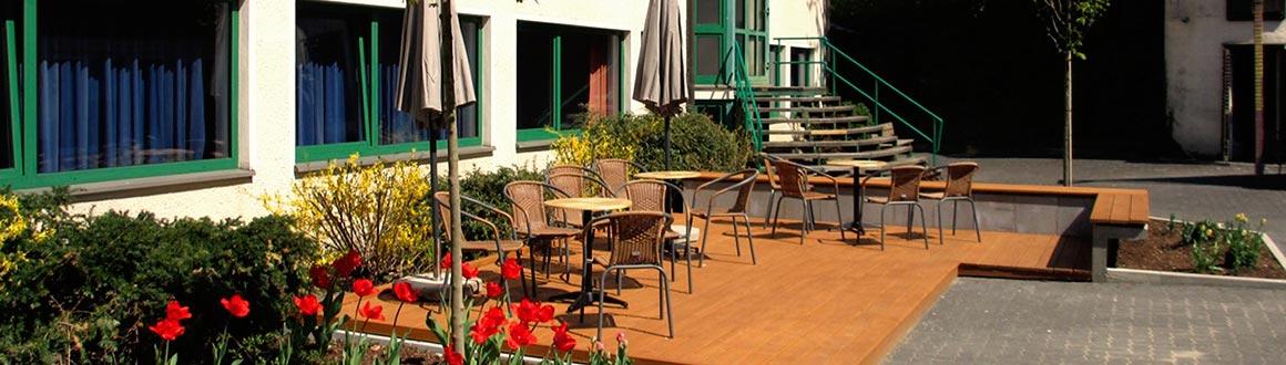 Gästehaus Jugendhof Olpe Außenansicht