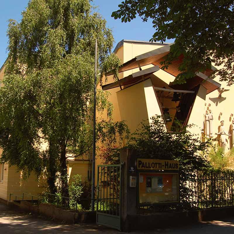 Gästehaus Pallotti-Haus Wien Außenansicht