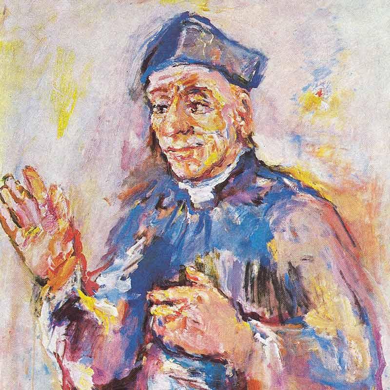 Gemälde Vinzenz Pallotti von Kokoschka