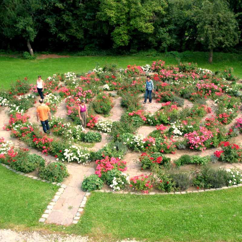 Gästehaus Pallotti-Haus Freising - Rosengarten