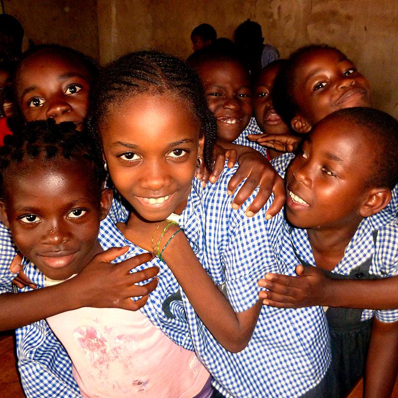 Bildung für Kinder in Afrika