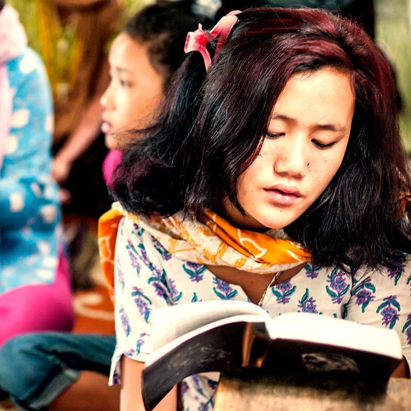 Missionsbericht der Pallottiner 2015 - Frauenförderung