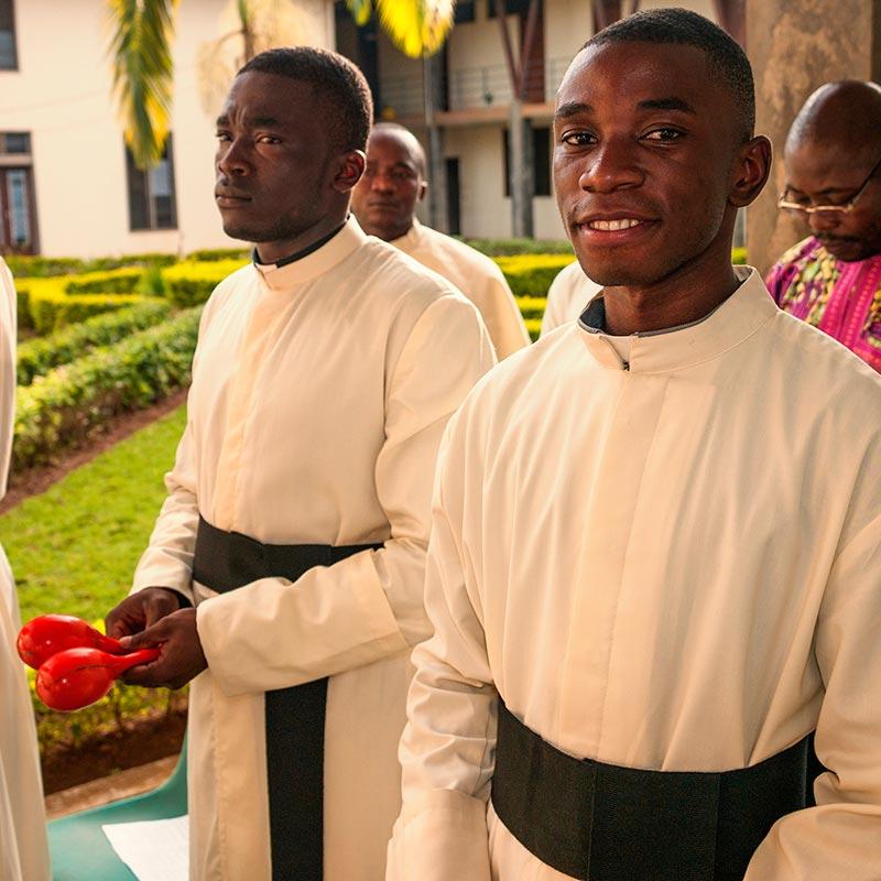 Missionsbericht der Pallottiner 2015 - Priester- und Brüderausbildung