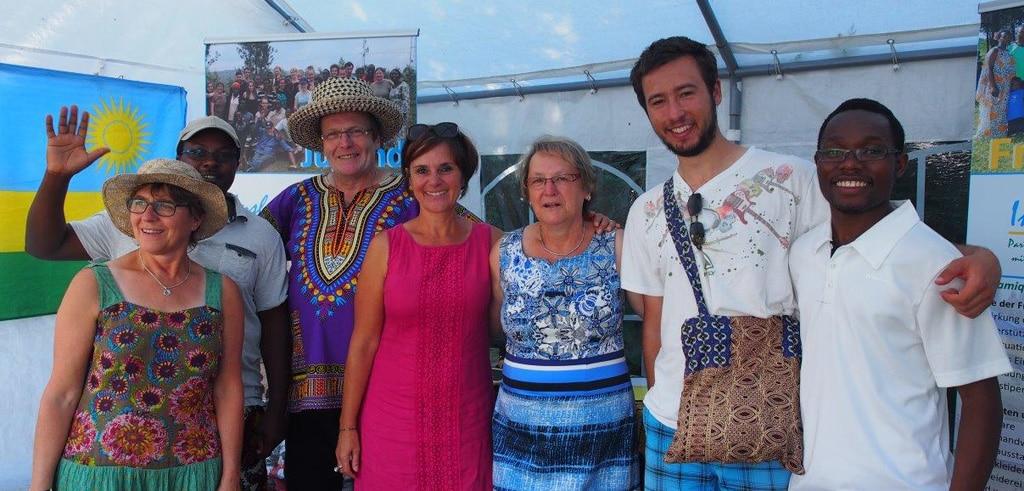 Wasserburg-Sommerfest-Gruppe