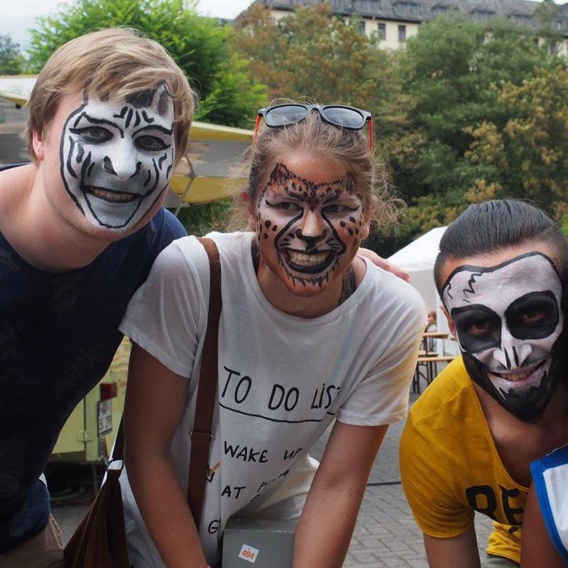 Wasserburg-Sommerfest-Schminke