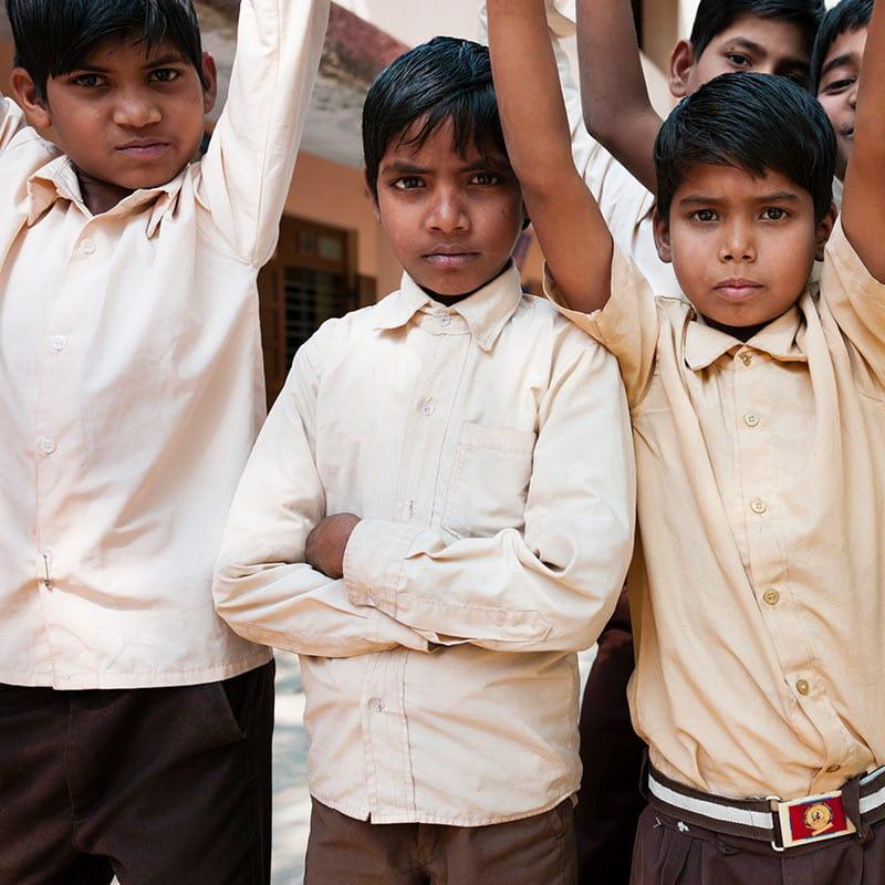 Kinderheim in Indien