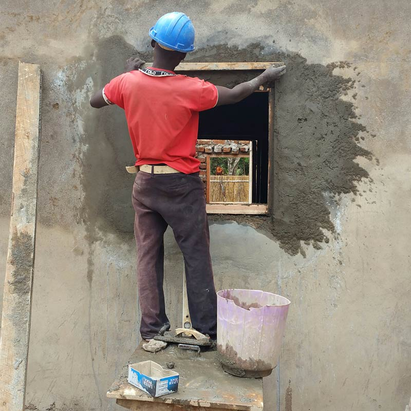 Kleines Haus in Kaphatika für 3 Mitbrüder