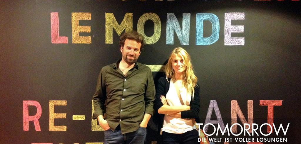 Melanie Laurent und Cyril Dion
