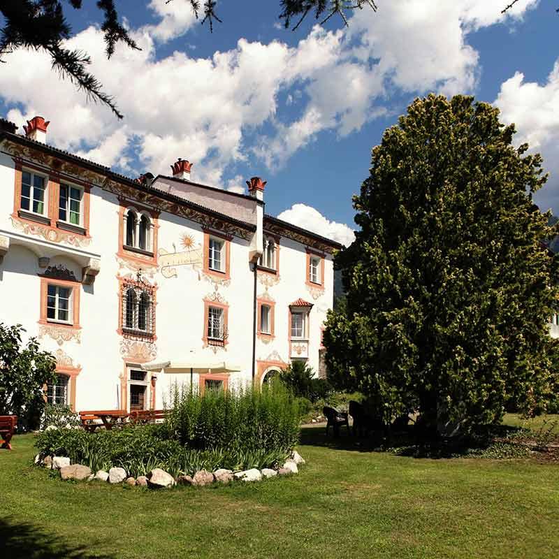 Gästehaus Casa Pallotti Meran Italien Außenansicht
