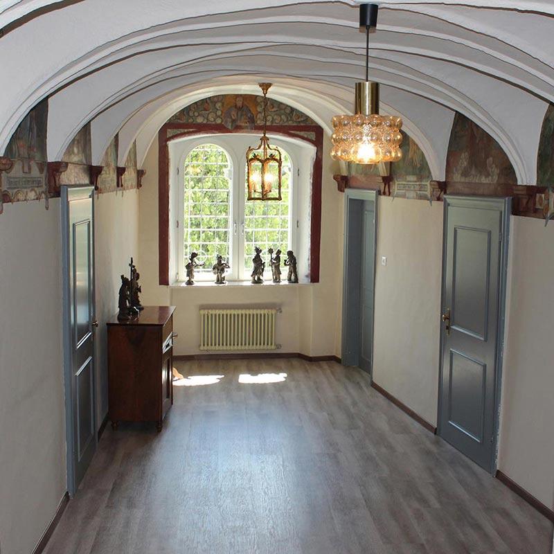 Gästehaus Casa Pallotti Meran Italien Innenansicht