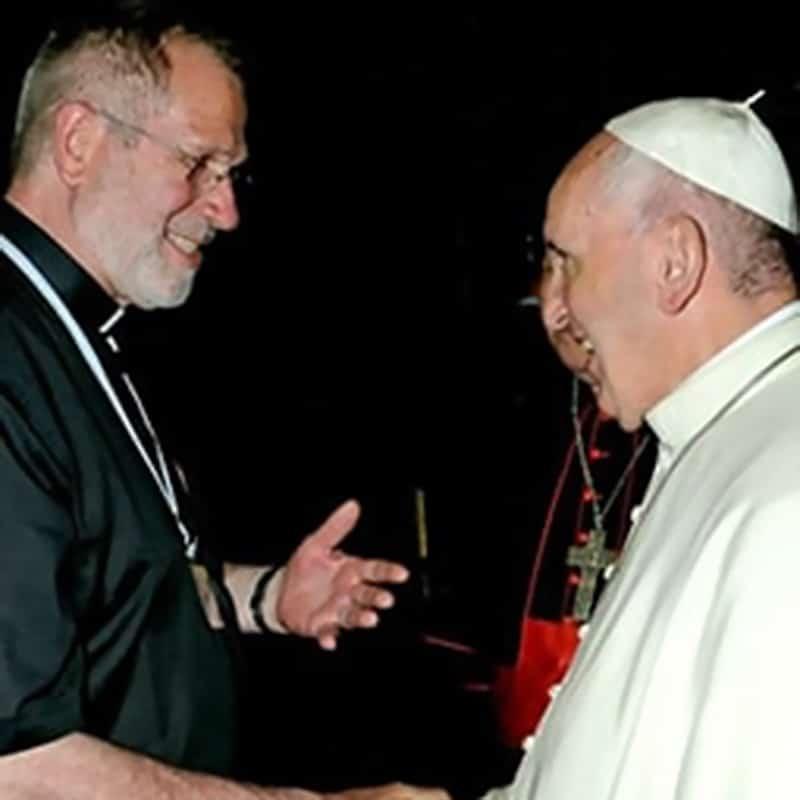 Pallottiner mit Papst Franziskus