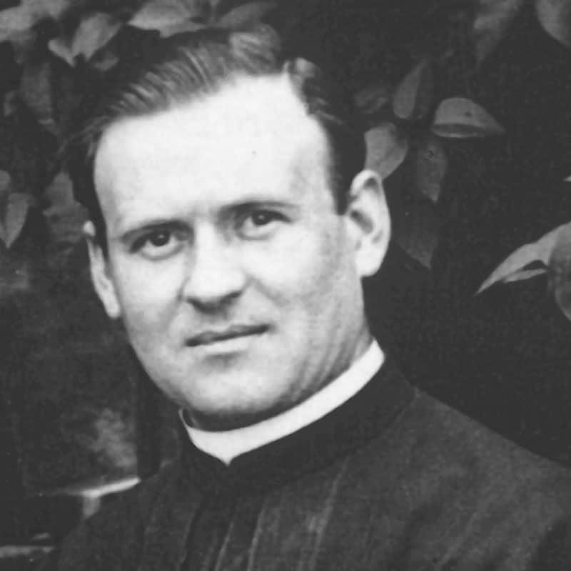 Kämpfer gegen den Nazionalsozialismus: Pallottinerpater Richard Henkes starb 1945 im KZ Dachau. Die deutschen Pallottiner sehen in Pater Richard Henkes einen mutigen Kämpfer und Zeugen für den christlichen Glauben und einen Märtyrer der Nächstenliebe.