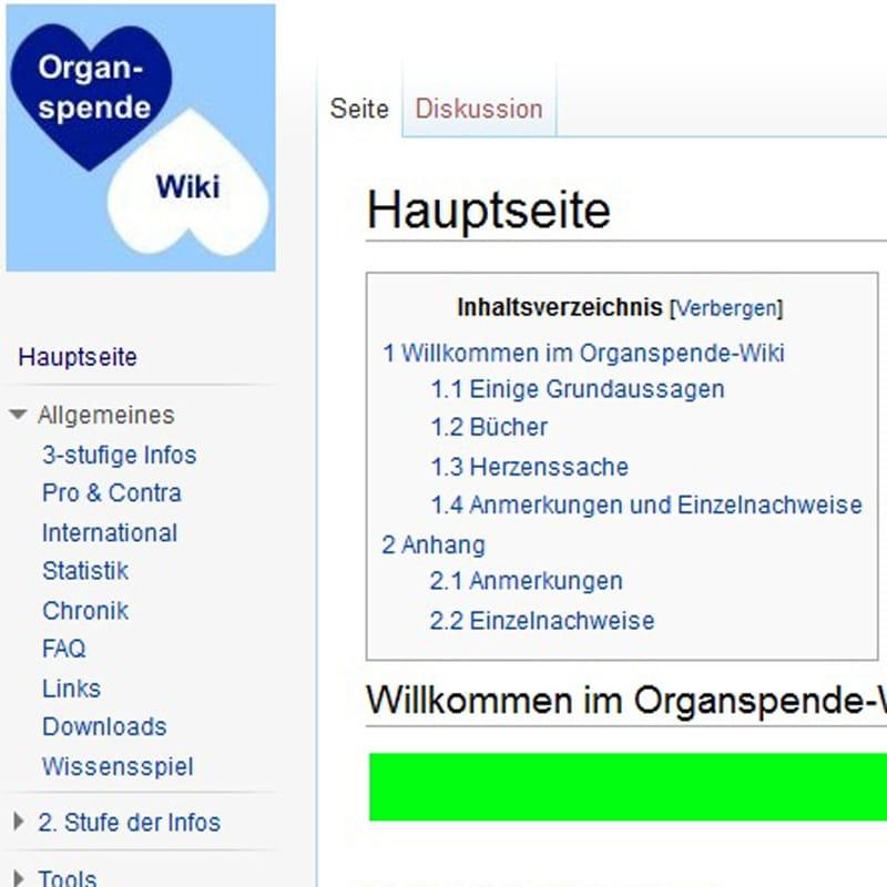 Organspende Wiki