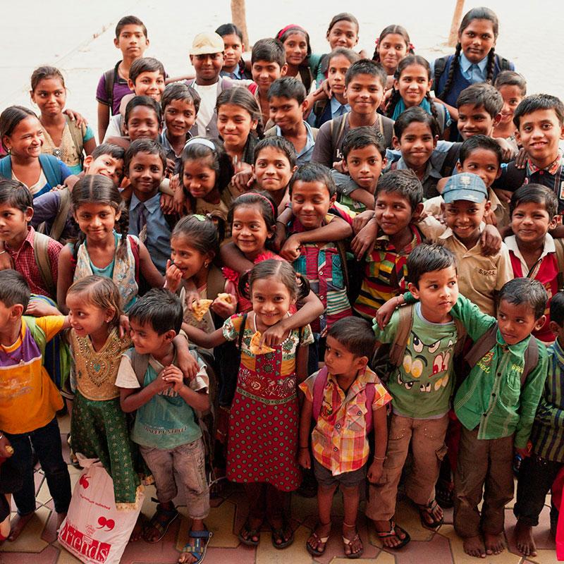 Waisenkinder in Südamerika