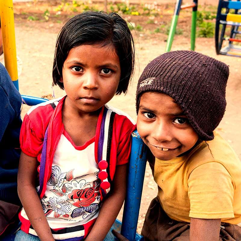 Missionsbericht der Pallottiner 2015 - Kinder in Indien
