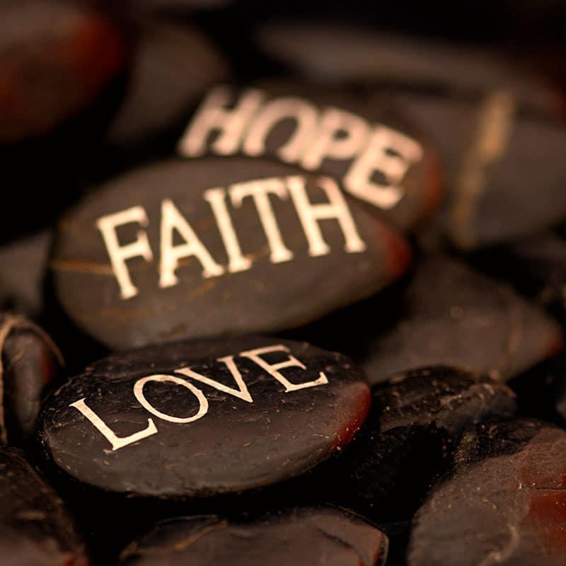 Hoffnung Glaube Liebe
