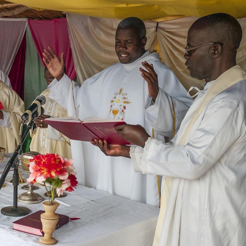 Gottesdienst in Malawi