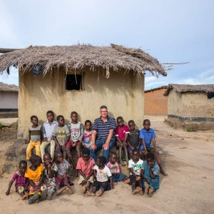 Pallottiner-Bruder Bert Meyer SAC in Malawi
