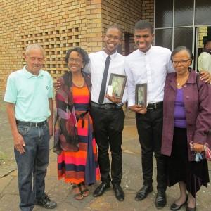 Freude in Südafrika