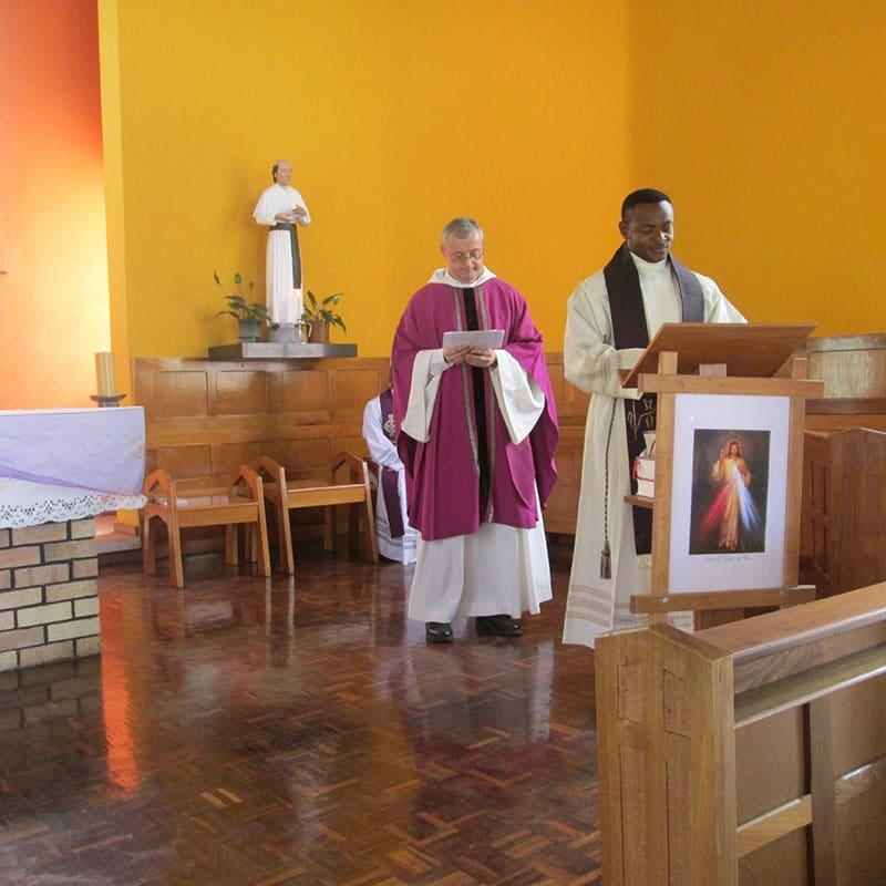 Gottesdienst in Südafrika