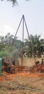 Brunnenbau in Nigeria