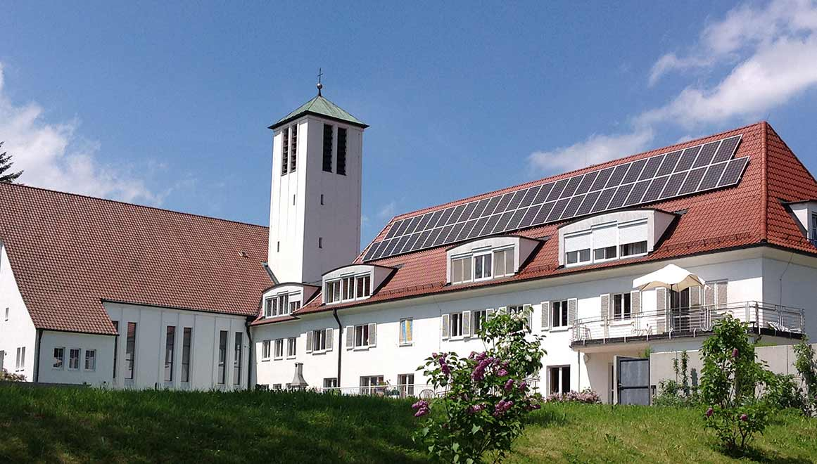 Fotovoltaik bei den Pallottinern