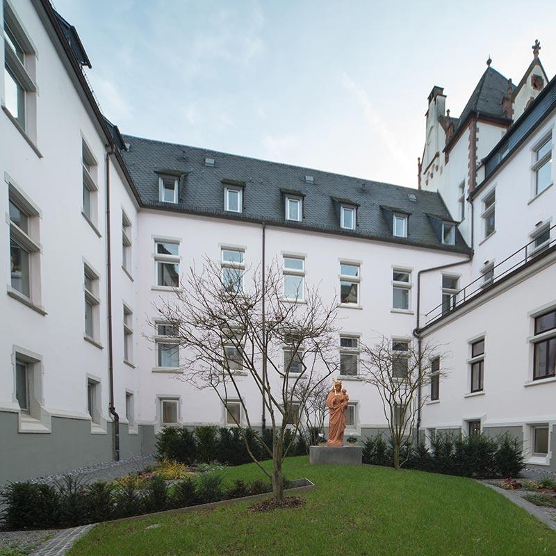 Missionshaus Limburg Innenhof