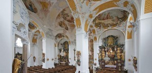 Kirchenraum von Herrgottsruh in Friedberg