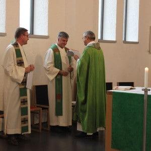 Gottesdienst mit Provinzial P. Scharler
