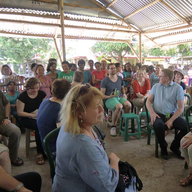 Zu Gast bei einer Basiskirchlichen Gemeinschaft