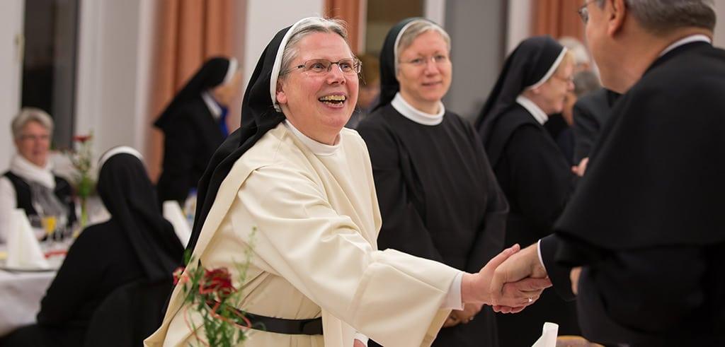 Gäste in Friedberg - Dominikanerin Sr. Dr. Aurelia Speidel OP