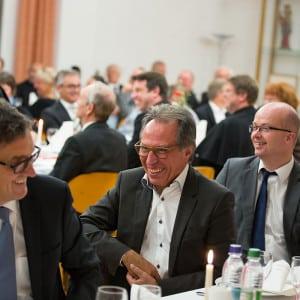 Gäste beim Empfang in Friedberg