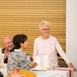 Ehrengast Luise Kugelmann ist mit P. Max Kugelmann SAC versandt