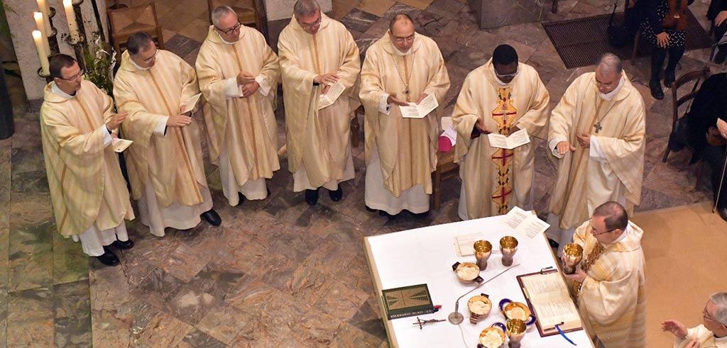 Dankgottesdienst in der Pallottiner-Kirche St. Marien