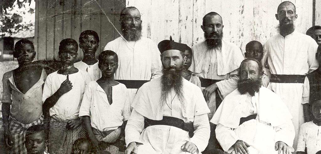 Fotografie von 1902 mit Heinrich Vieter SAC