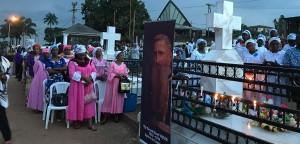 Feierlicher Gedenkgottesdienst in Kamerun