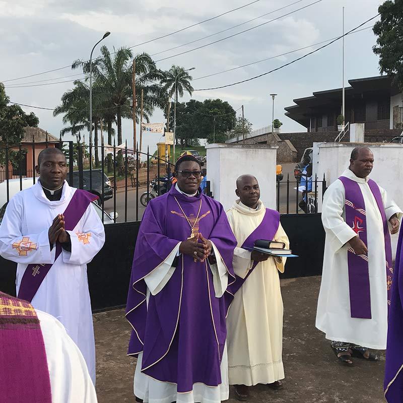 Gedenkfeier für Bischof Heinrich Vieter in Kamerun