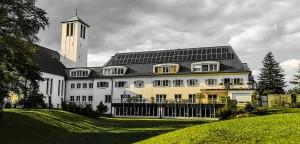 Sonnenenergie für das Provinzialat der Pallottiner
