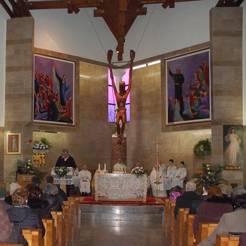 Gottesdienst in Vinkovci