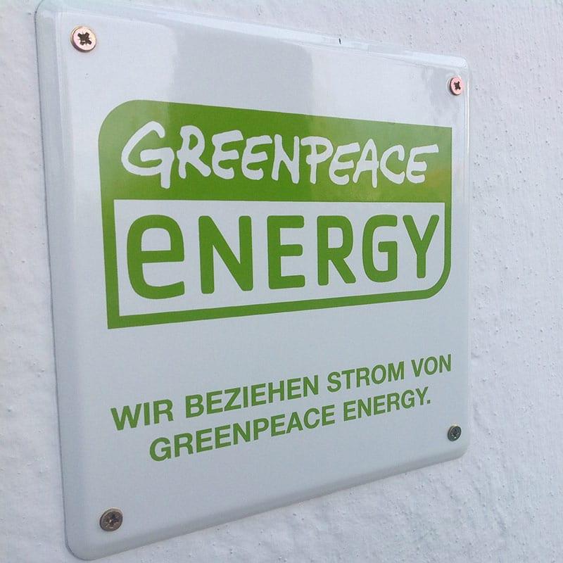 Pallottiner beziehen Ökostrom von Greenpeace