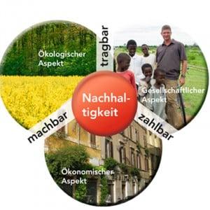 Grafik Nachhaltigkeit bei den Pallottinern