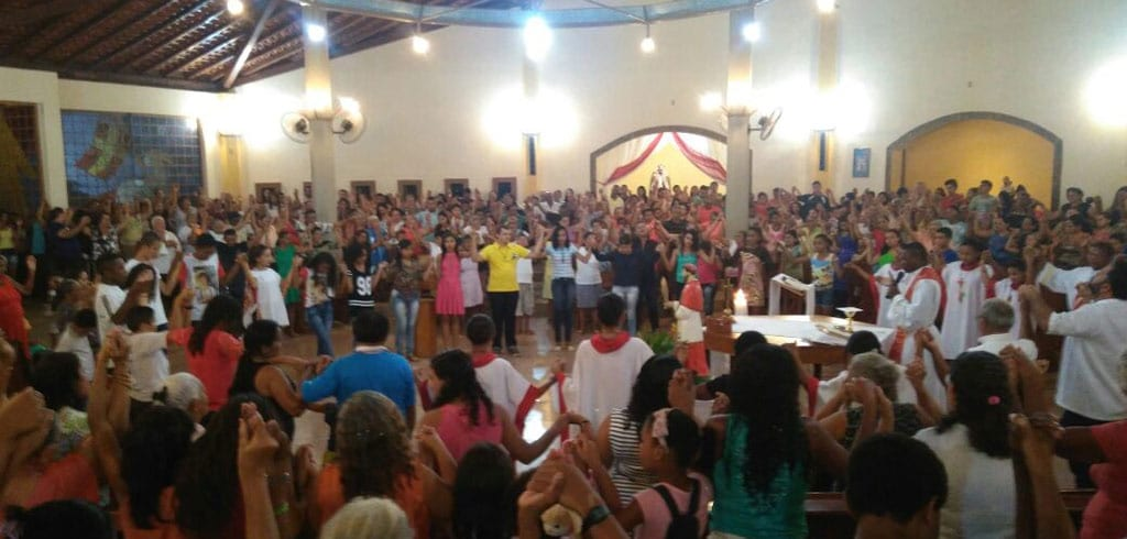 Gottesdienst in Brasilien