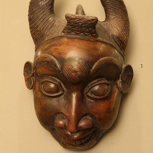 Maske aus Kamerun Weihnachten