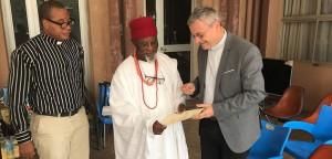Die Pallottiner im Gespräch mit Ugwe Anugwu