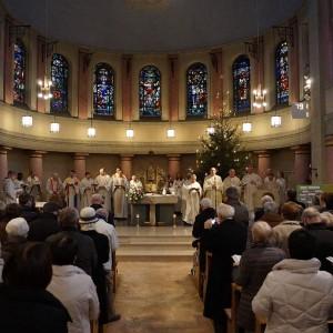 Abschiedsgottesdienst in der Pallottiner-Kirche in Olpe