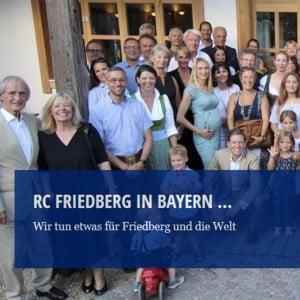 Engagement für Friedberg und die Welt