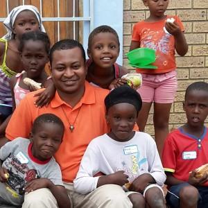 Pater Cosmas in Südafrika