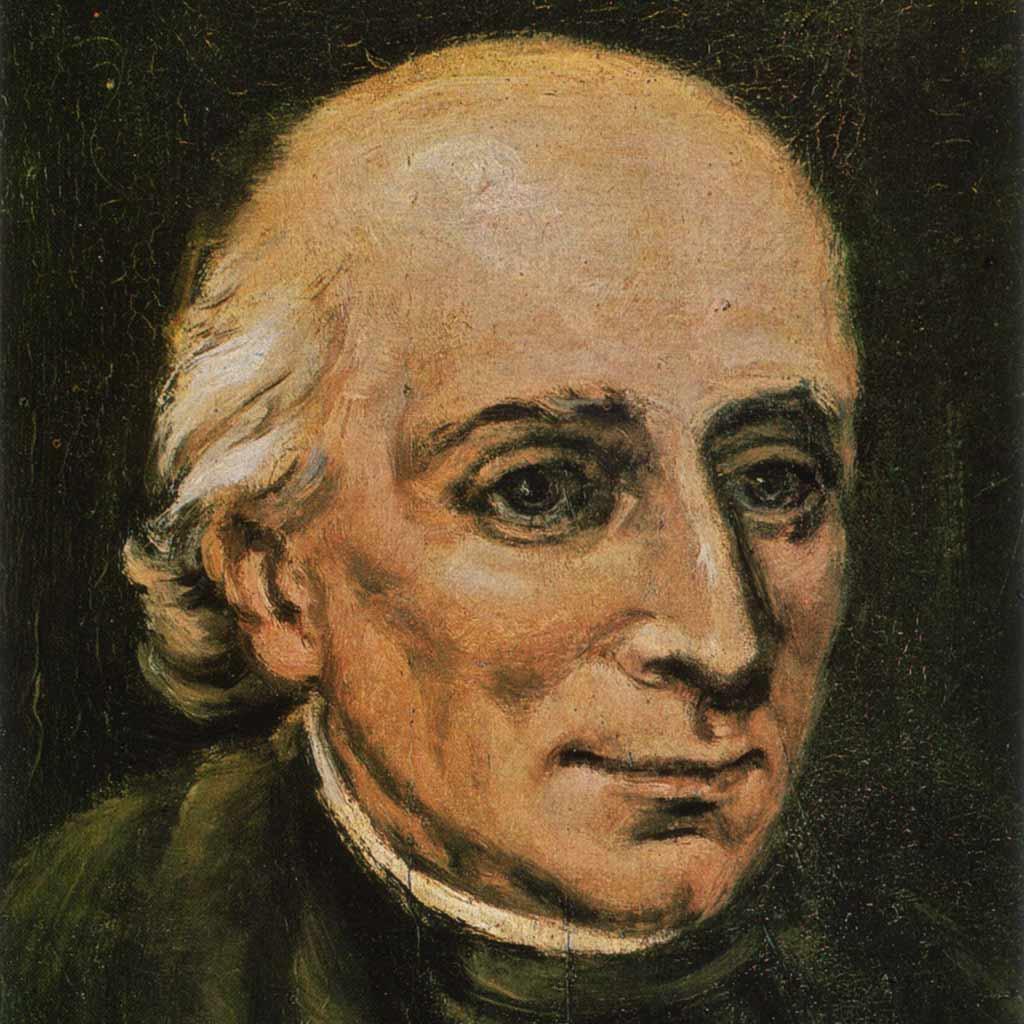 Vinzenz Pallotti - ein Gemälde von B. Zwiener
